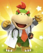 Art Bowser Jr Dr Mario World
