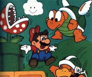 SMB3 Artwork Rieseninsel