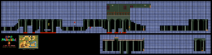 SMB3 World 1-Fortress SNES level map