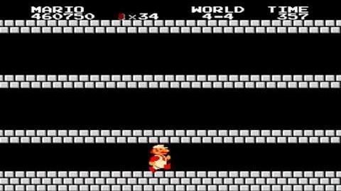 Super Mario Bros. - World 4-4