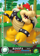 Carte amiibo Bowser golf
