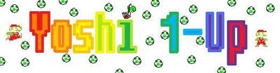 Yoshi 1-Up logo