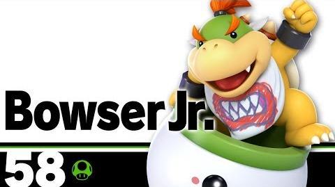 58 Bowser Jr. – Super Smash Bros
