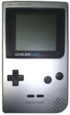 Game Boy Light - Grey Model