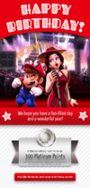 Happy Birthday Super Mario Odyssey