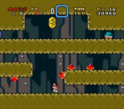 SMW Screenshot Vanille-Dom 1