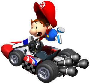 beb mario mario kart wii - Bebe Mario