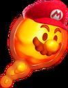 Lava Bubble Mario