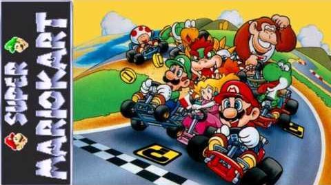 Let's Listen Super Mario Kart (SNES) - Rainbow Road (Extended)
