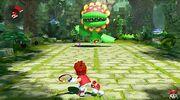 Mario Tennis Aces Bosskampf Welt