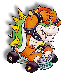 Bowser Artwork (Super Mario Kart)