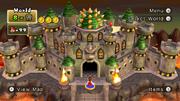 NSMBW Screenshot Bowsers Festung