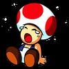 Toad pleure