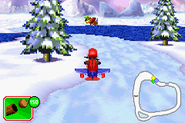 Diddy - Snowy Race - Diddy Kong Pilot (2001)