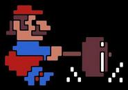Donkey Kong Mario Hammer Artwork