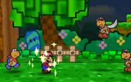 Focus Being Used (Paper Mario)