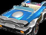 Blues-Cabrio