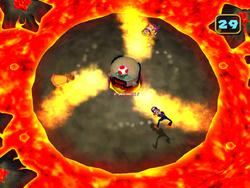 MP5 Screenshot Herrscher des Vulkans