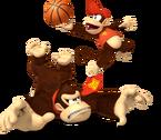 MSM Artwork Diddy Kong & Donkey Kong