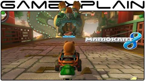 Mario Kart 8 DLC Dragon Driftway Gameplay