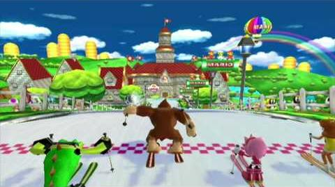 Mario and Sonic at the Olympic Winter Games (Wii Dream Events Trailer)