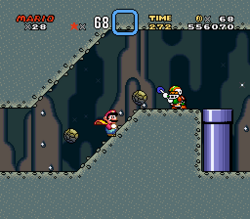 SMW Screenshot Bowsers Tal 4
