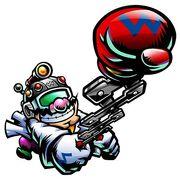 WMOD Artwork Erfinder-Wario