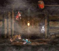 DKC Screenshot Nebel-Mine