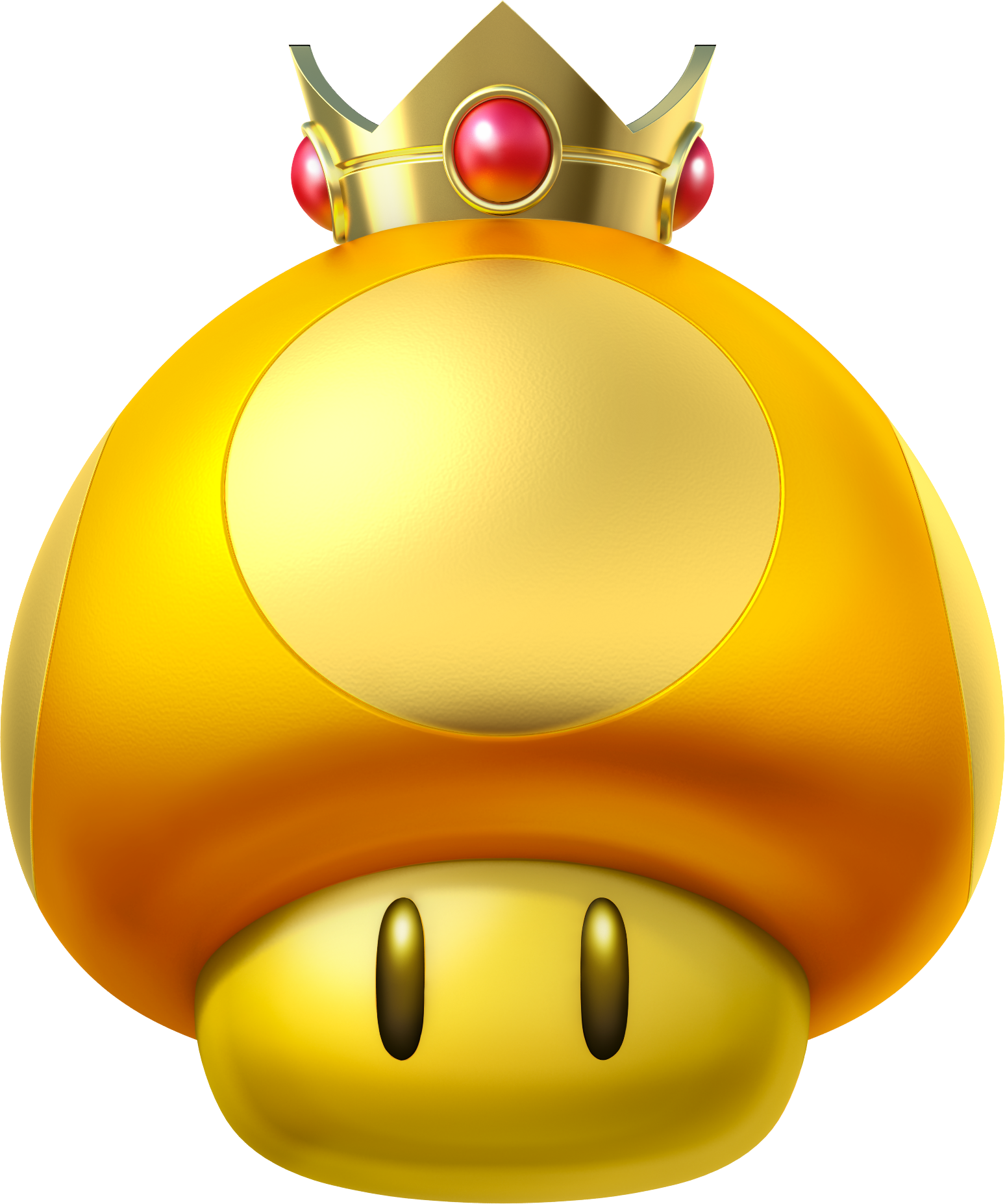 MK8 Artwork Goldener Turbo-Pilz