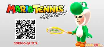 Mario Tennis QR Traje Yoshi EUR