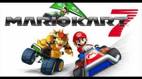 Mario kart series - SNES Rainbow road remix