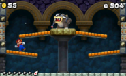 Morton Koopa Jr. NSMB2 battle