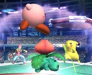 Rojo vs Kirby