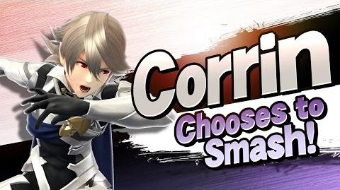 Super Smash Bros. – Corrin Chooses to Smash!
