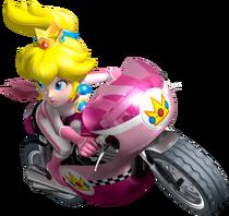 Princess Peach Artwork - Mario Kart Wii