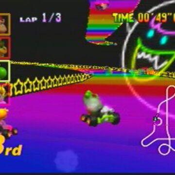 Rainbow Road Mario Kart 64 Mariowiki Fandom
