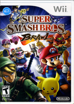 Super Smash Bros. Brawl - North American Boxart