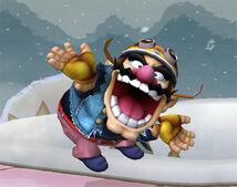 Wario em Super Smash Bros.