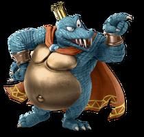Art King K. Rool bleu Ultimate