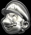 MKT Icône Mario de métal