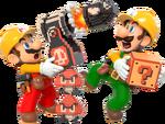 SMM2-Mario,Luigi&Ennemis