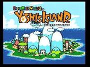 Yoshi's island dans super mario world 2