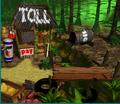 DKC2 Sprite Klubbas Kiosk