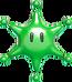 Maxiestrella Iris Verde