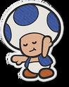 PMOK Artwork Blauer Toad