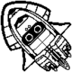 Blooper Spaceship stamp MK8
