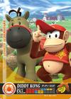Carte amiibo Diddy Kong course équestre