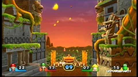 Mario Party 9 Minigame DKs Bananen-Bonus (DK's Banana Bonus)