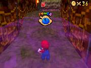 SM64DS Hazy Maze Cave Star 4