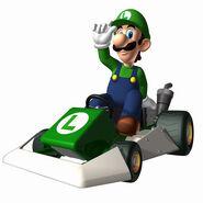 MKDS Artwork Luigi